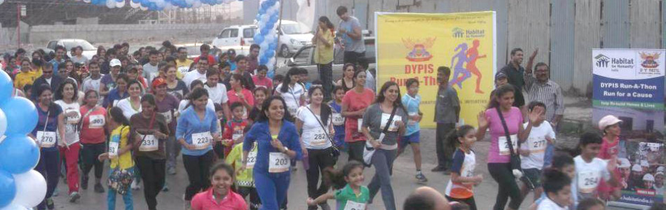 DY Patil School Worli Marathon 2013 for Habitat for Humanity India