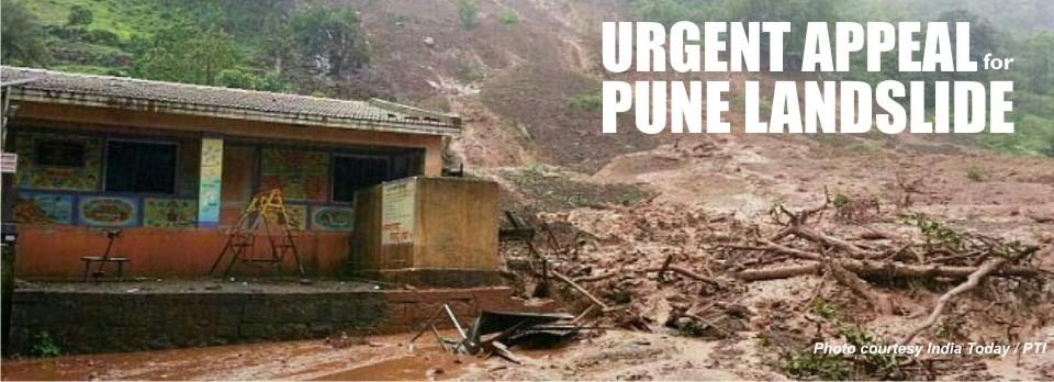 Pune Disaster Landslide