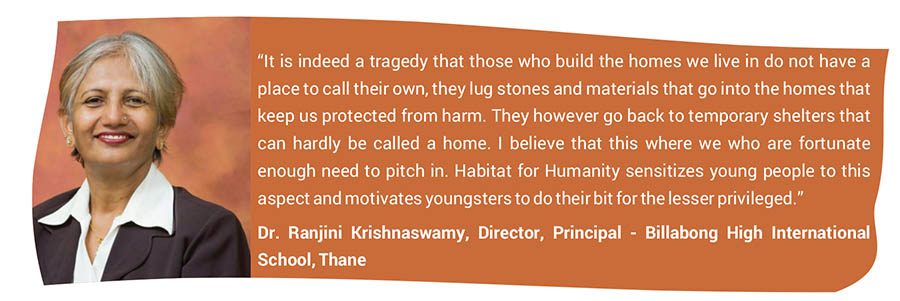 Dr. Ranjini Krishnaswamy, Director, Principal - Billabong High International School, Thane